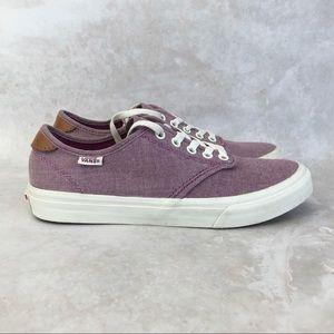 Vans Off The Wall Camden Deluxe Purple Sneakers